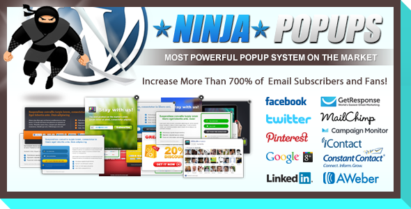CodeCanyon Ninja Popups for WordPress 3476479