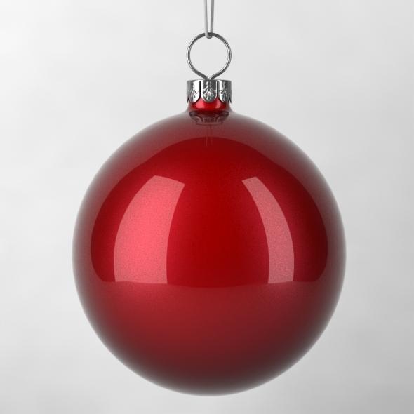 3DOcean Christmas Decoration Ball 3608921