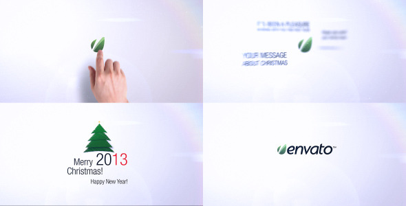 VideoHive Hand Intro Christmas Version 3609954