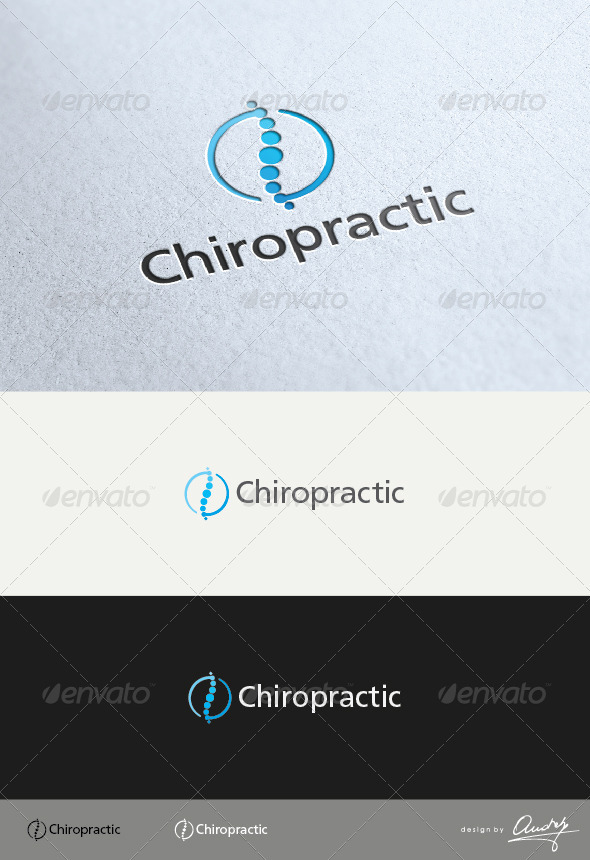 GraphicRiver Chiropractic Logo 3610024