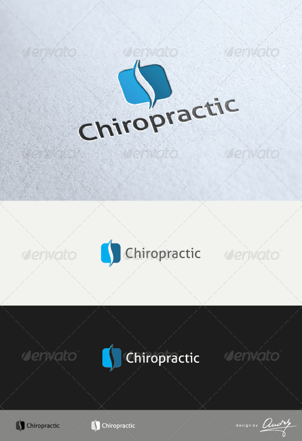 GraphicRiver Chiropractic Logo 3610062
