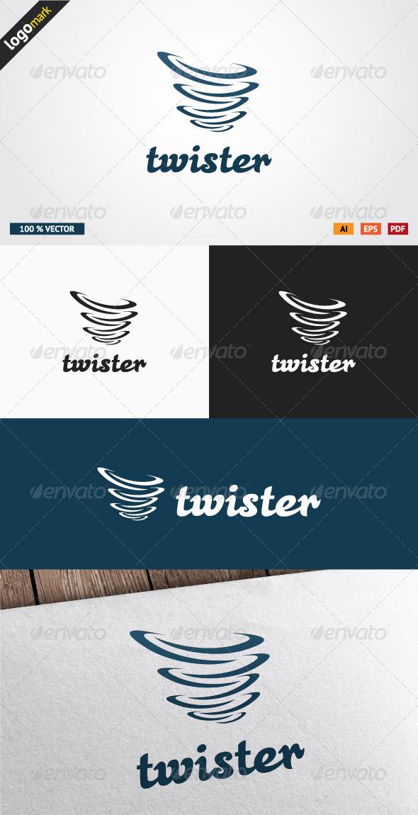 GraphicRiver Twister Logo 3610306