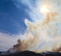 Wildfire Smoke in Colorado Mountains - PhotoDune Item for Sale