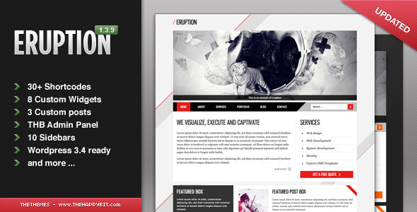 ThemeForest Eruption wordpress 405712