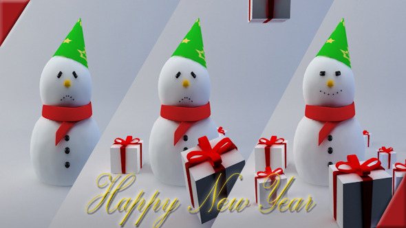 3DOcean Happy Snowman 3611725