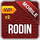 Rodin Mobile Template WordPress Version - ThemeForest Item for Sale