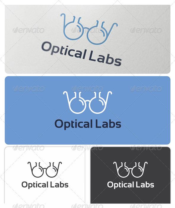 GraphicRiver Optical Labs Logo 3614366