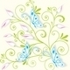 Blue Butterflies Cut Out of Paper - GraphicRiver Item for Sale