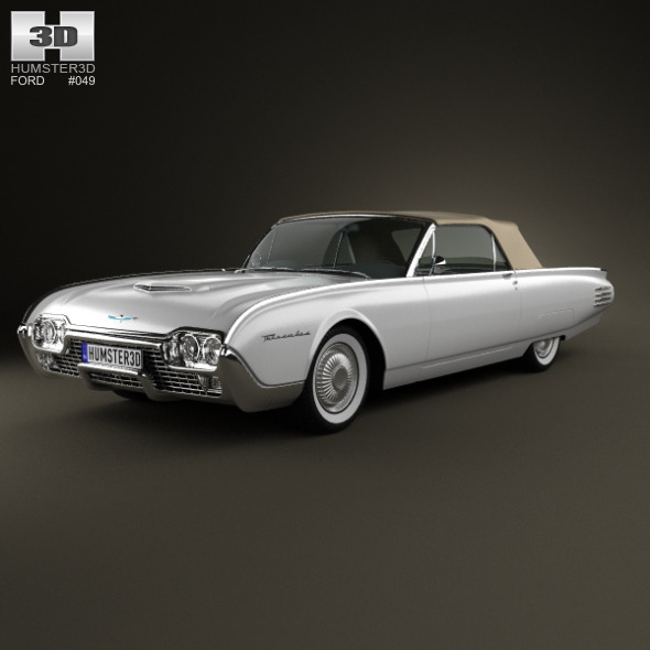 Ford Thunderbird 1961 - 3DOcean Item for Sale