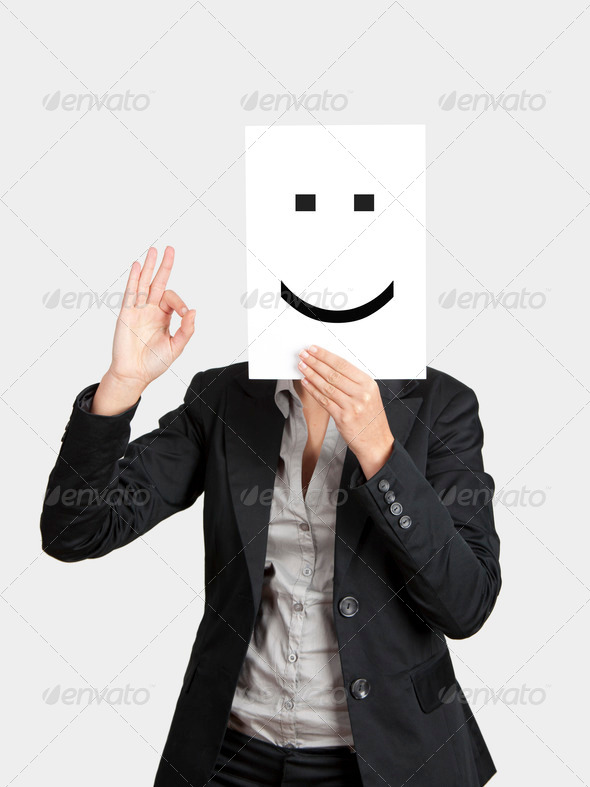 Happy Face - Stock Photo - Images