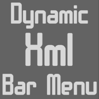 Dynamic Xml Bar Menu - ActiveDen Item for Sale