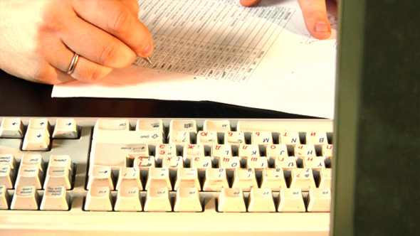 Close-Up Typing 3