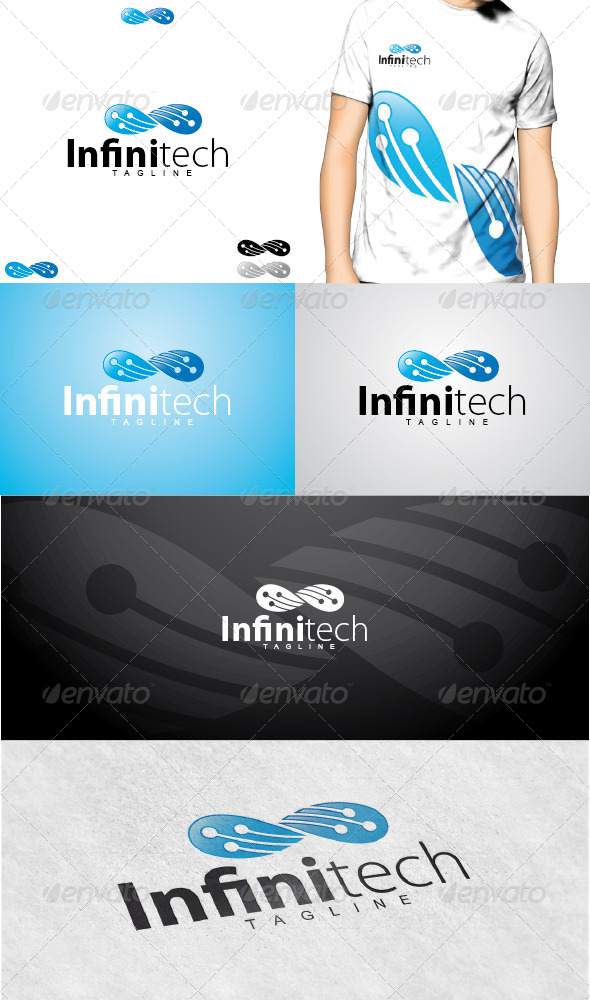 GraphicRiver Infinitech Logo 3615122