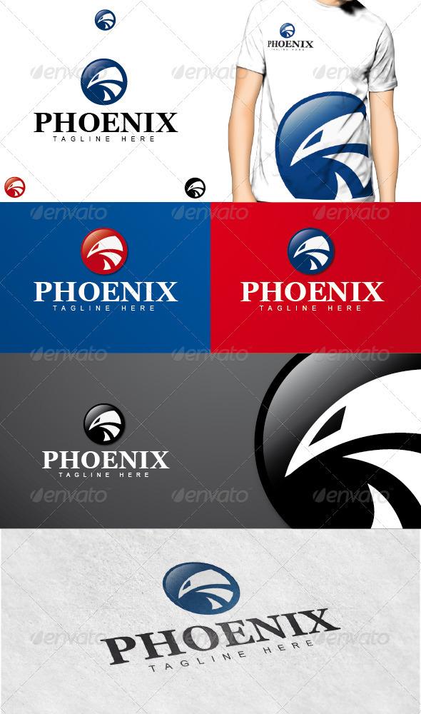 GraphicRiver Phoenix Logo 3615349
