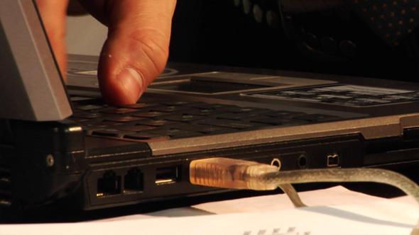 Man Using Laptop 1