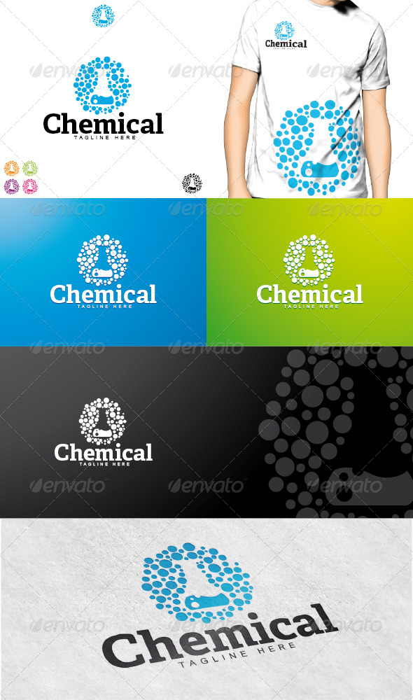 GraphicRiver Chemical Logo 3617630