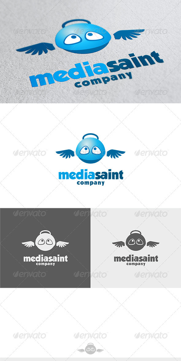 GraphicRiver Media Saint Logo 3617932