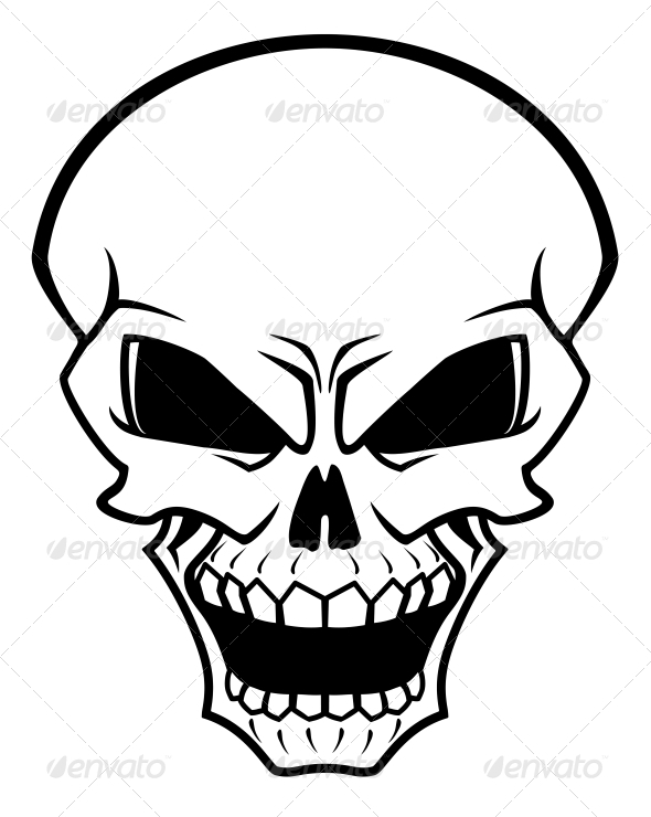 GraphicRiver Danger Skull 3617961