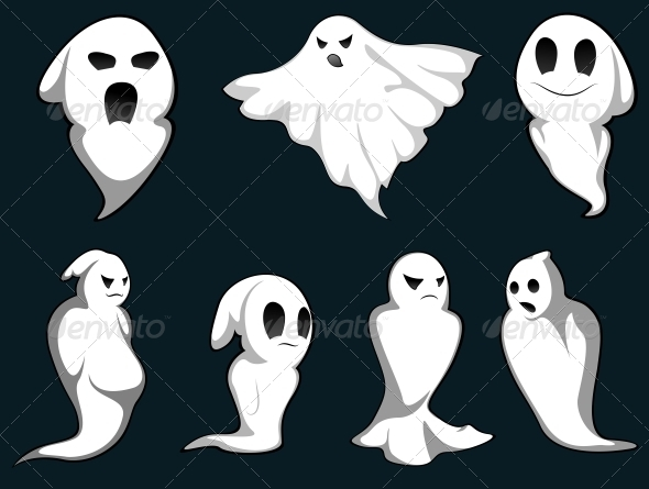 GraphicRiver Mystery Ghosts 3617984