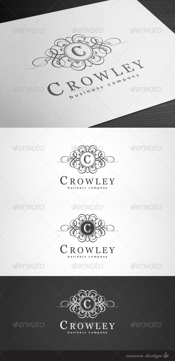 GraphicRiver Crowley Logo 3569122