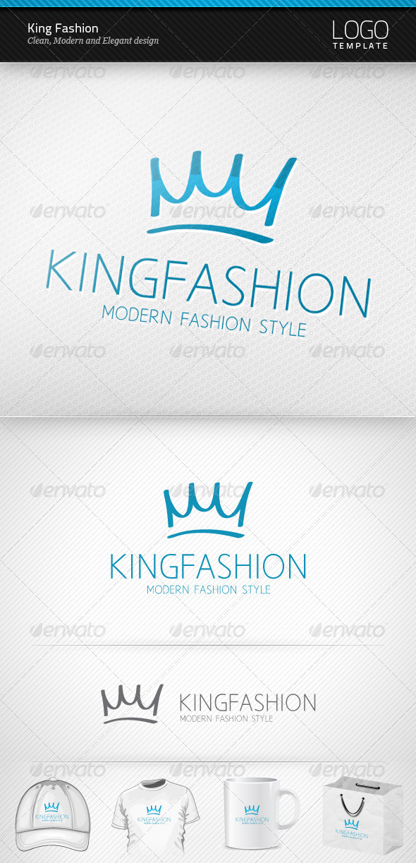 GraphicRiver King Fashion Logo 3618593
