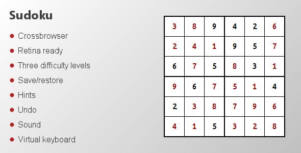CodeCanyon Sudoku 3576054