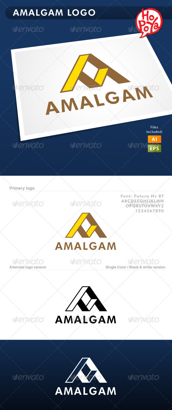 GraphicRiver Amalgam Logo 3566081