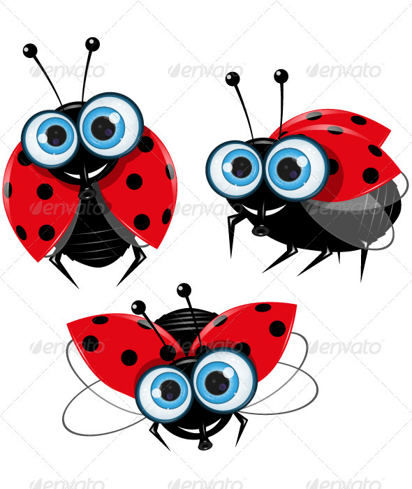 GraphicRiver Ladybirds 3619318