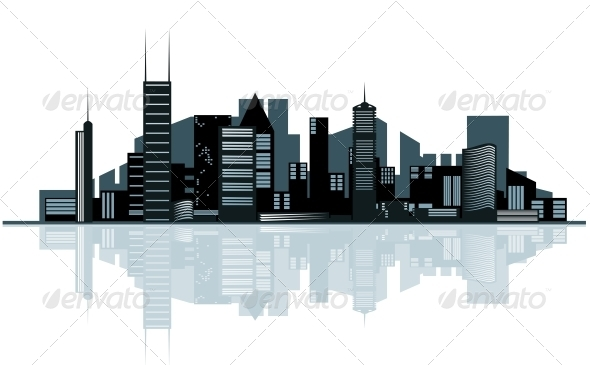 GraphicRiver City Skyline 3619404