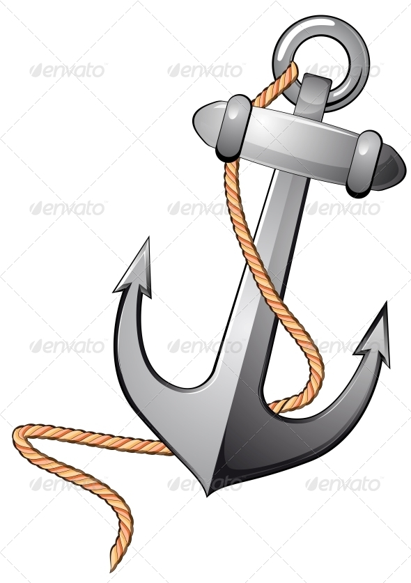 GraphicRiver Isolated Anchor 3619503
