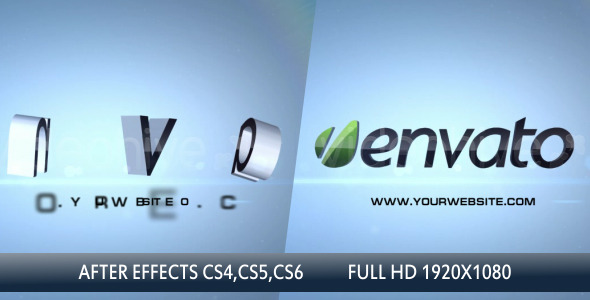 VideoHive Shatter 3D Logo Elements Intro 3620839