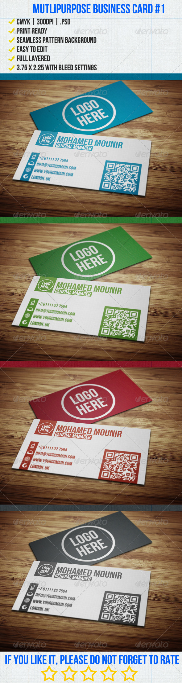GraphicRiver Multipurpose Business Card 1 3576472