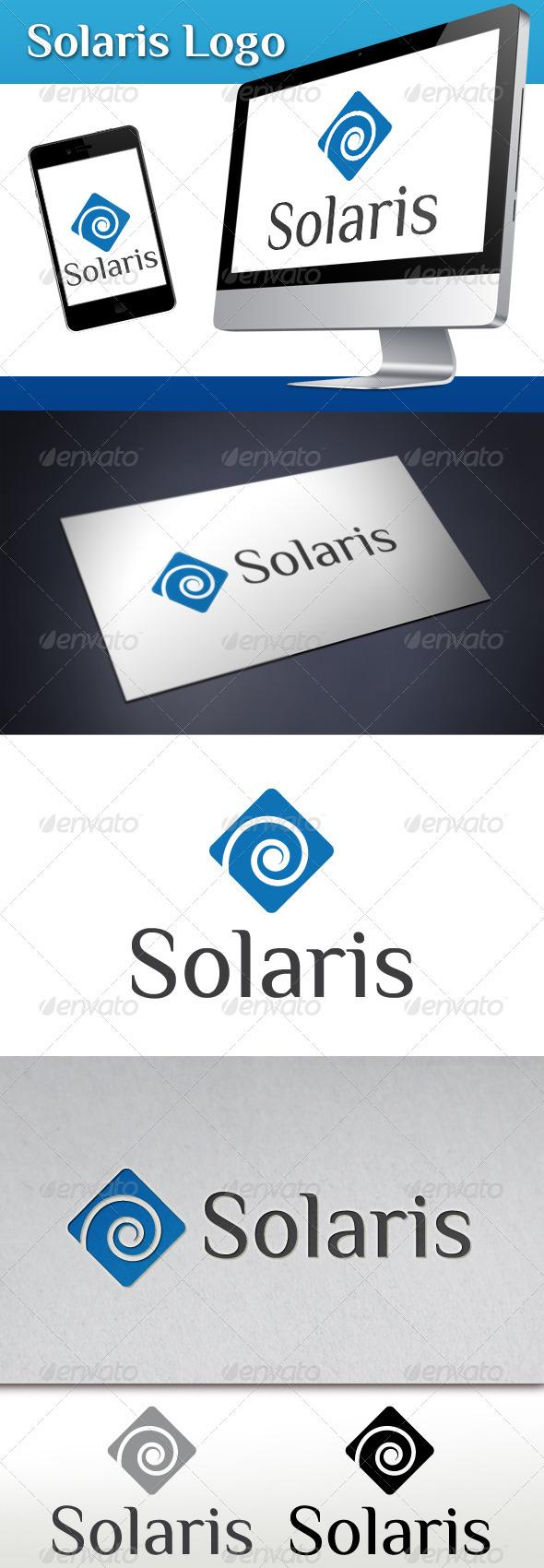 GraphicRiver Solaris Logo Template 3567786