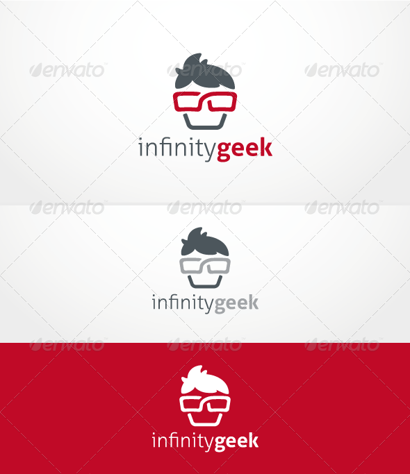 GraphicRiver Infinity Geek Logo Template 3622096