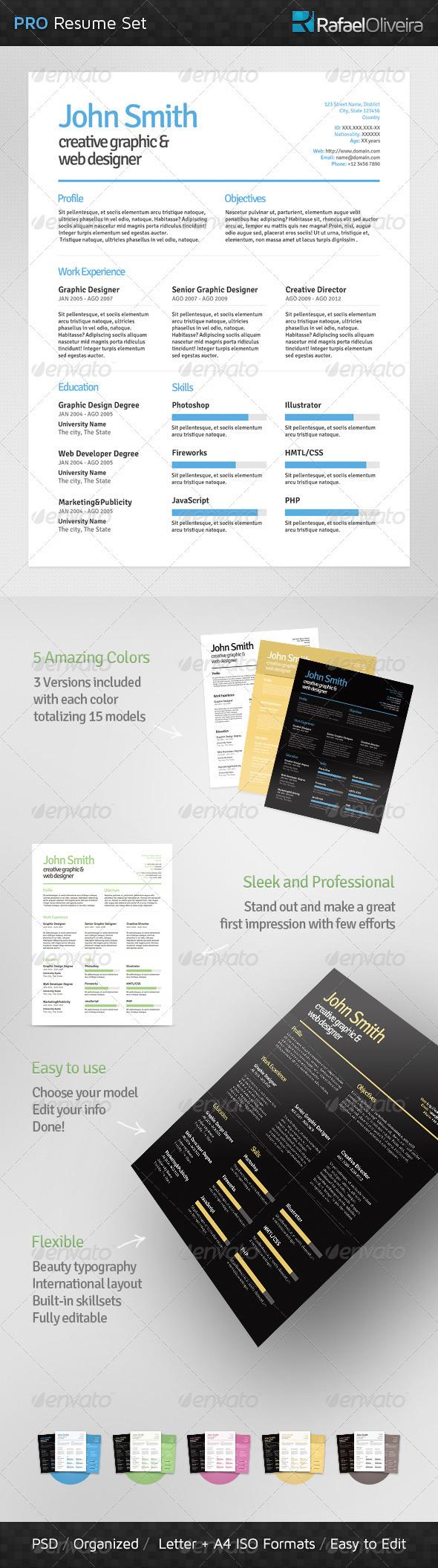 Pro Resume Set - Resumes Stationery