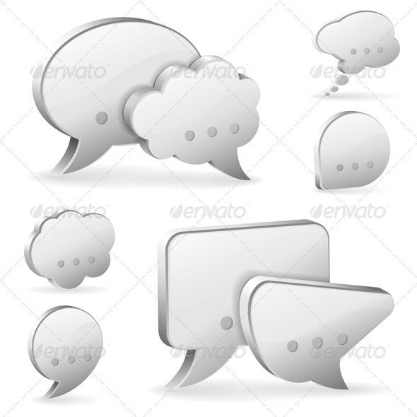 GraphicRiver Speech Bubbles 3622133