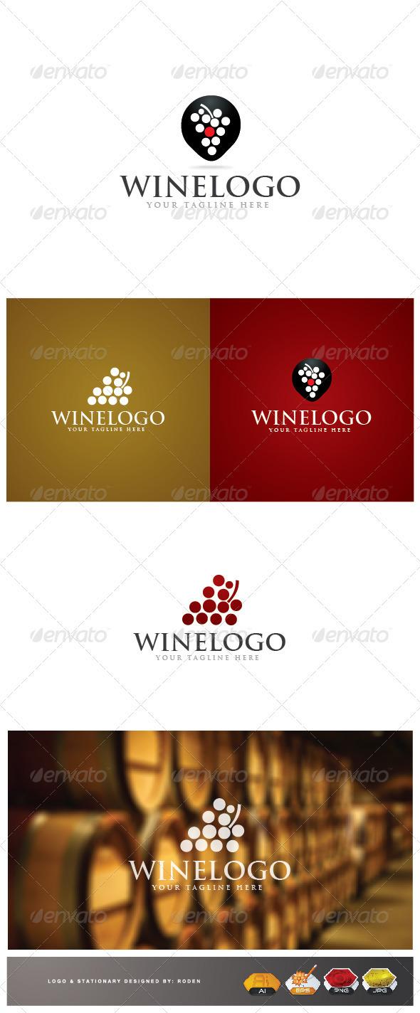 GraphicRiver Wine Logo 3622144
