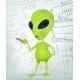 Download Vector Cartoon Character Alien