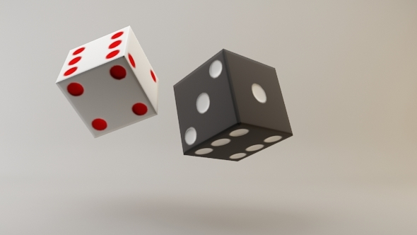 3DOcean Low Poly Dice 3622339