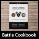 Battle Cookbook - Food Recipe with tablet version - GraphicRiver Item for Sale