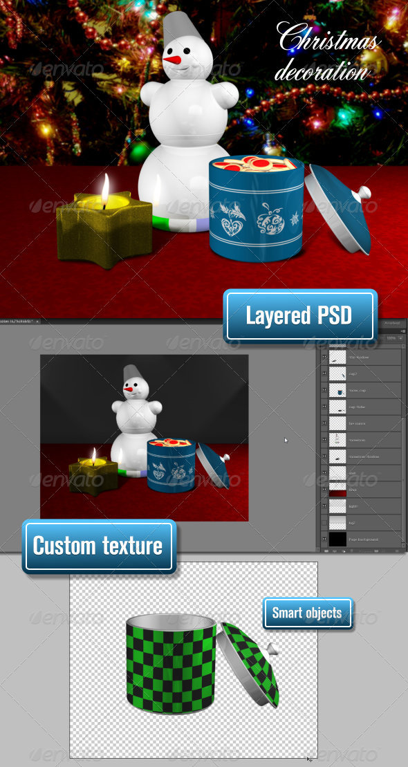 GraphicRiver Christmas Decoration 3564999