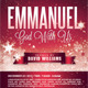 Emmanuel Church Flyer Template - GraphicRiver Item for Sale