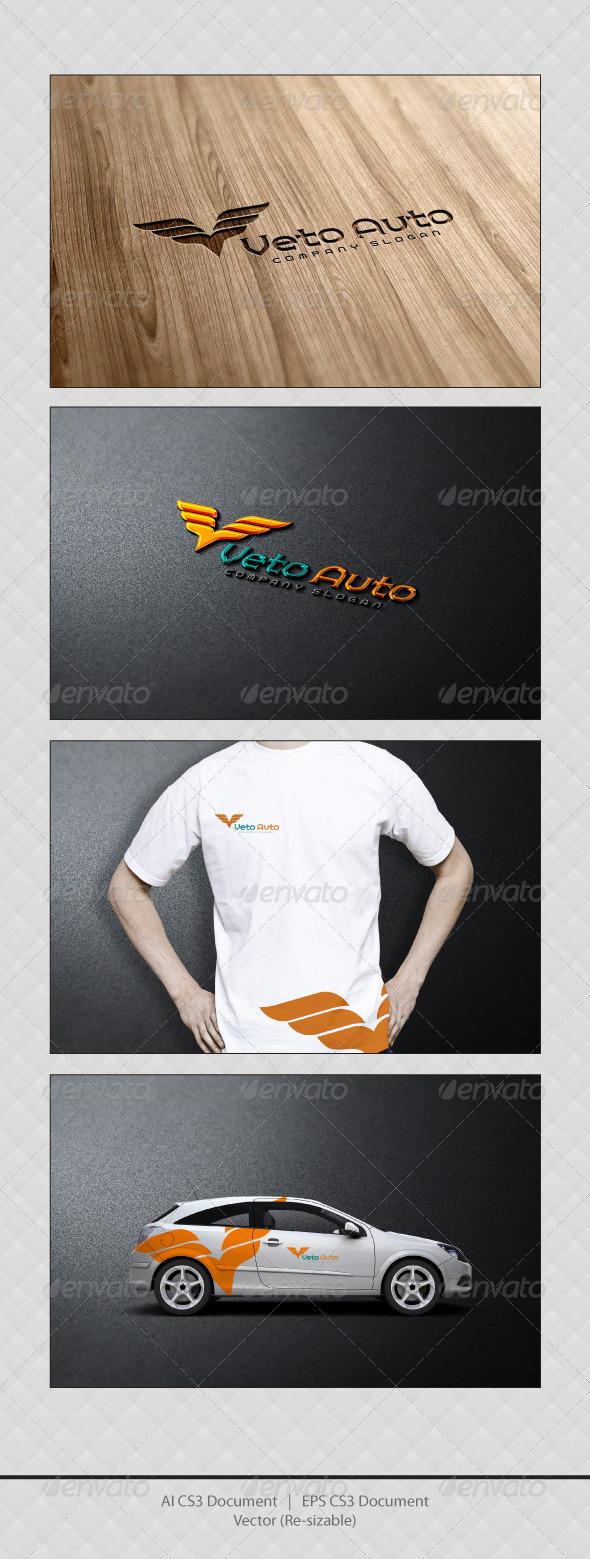 GraphicRiver Veto Auto Logo Templates 3623928