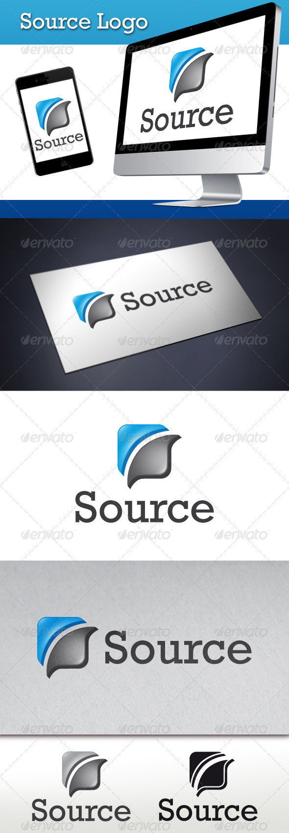 GraphicRiver Source Logo Template 3574961