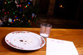 Christmas Cookie Crumbs by Note From Santa Tree and Fireplace - PhotoDune Item for Sale