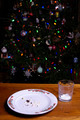 Christmas Cookie Crumbs by Christmas Tree - PhotoDune Item for Sale
