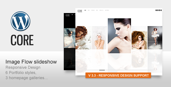 ThemeForest Core Minimalist Photography Portfolio 240185