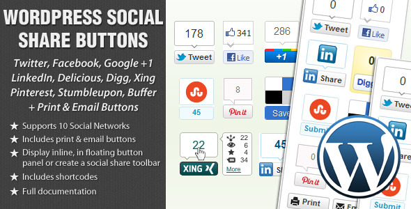 Top 10 Best Social Sharing Plugins For WordPress