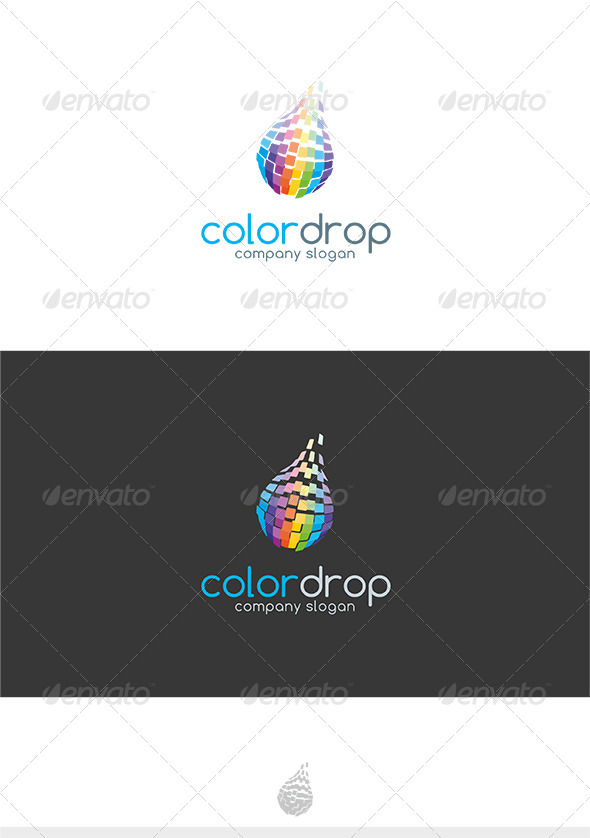 Color Drop Logo