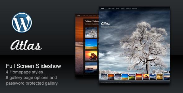 ThemeForest Atlas For Photography Creative Portfolio 306532